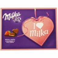 Milka I love Milka praliné mandulás 110g