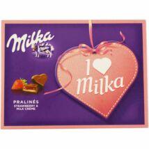 Milka I love Milka praliné mandulás 120g