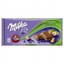 Milka Alpesi tejcsokoládé tört mogyoróval 100 g