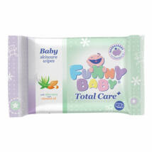 Funny Baby Total Care 72 lapos nedves törlőkendő