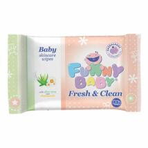 Funny Baby Fresh & Clean nedves törlőkendő