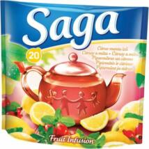 Saga Citrus-menta ízű gyümölcstea 36 Gr