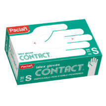 Paclan latex gloves contact