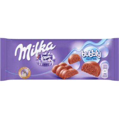 Milka bubbly tejcsokoládé 90 g