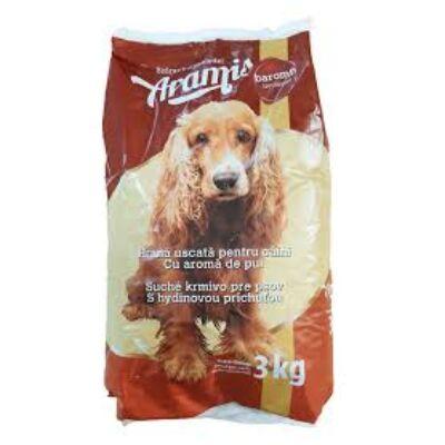 Aramis Száraz kutyaeledel Baromfi  ízesítéssel - 3 kg