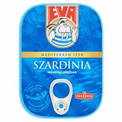 EVA Szardínia növényi olajban 115g