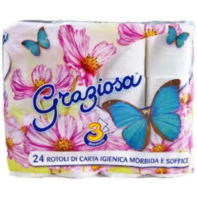 Graziosa 4 db/csomag 3rétegű WC papír