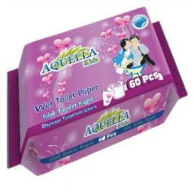 Aquella Nedves Toalett Papír 60db/csomag