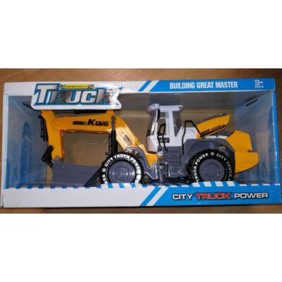 Truck City Power Játék Jármű