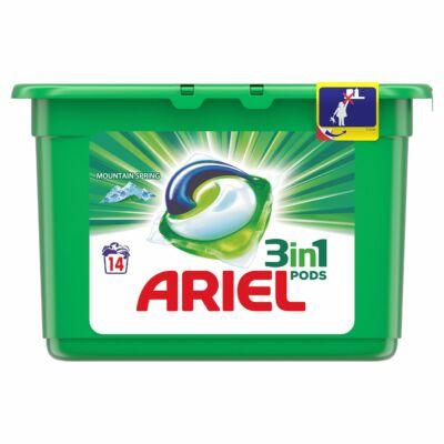 Ariel 3 in 1 pods mosókapszula 14db