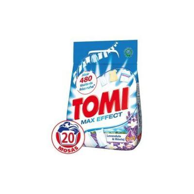 Tomi Max Effect 2 in 1 Levendula & Illóolaj mosópor 1,4 kilogramm