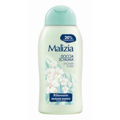 MALIZIA DOCCIA SHIUMA WHITE MUSK TUSFÜRDŐ 300ml