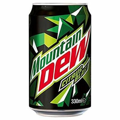 Mountain Dew üdítőital 330 ml
